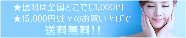 1万円以上の注文より発送。全国どこでも500円